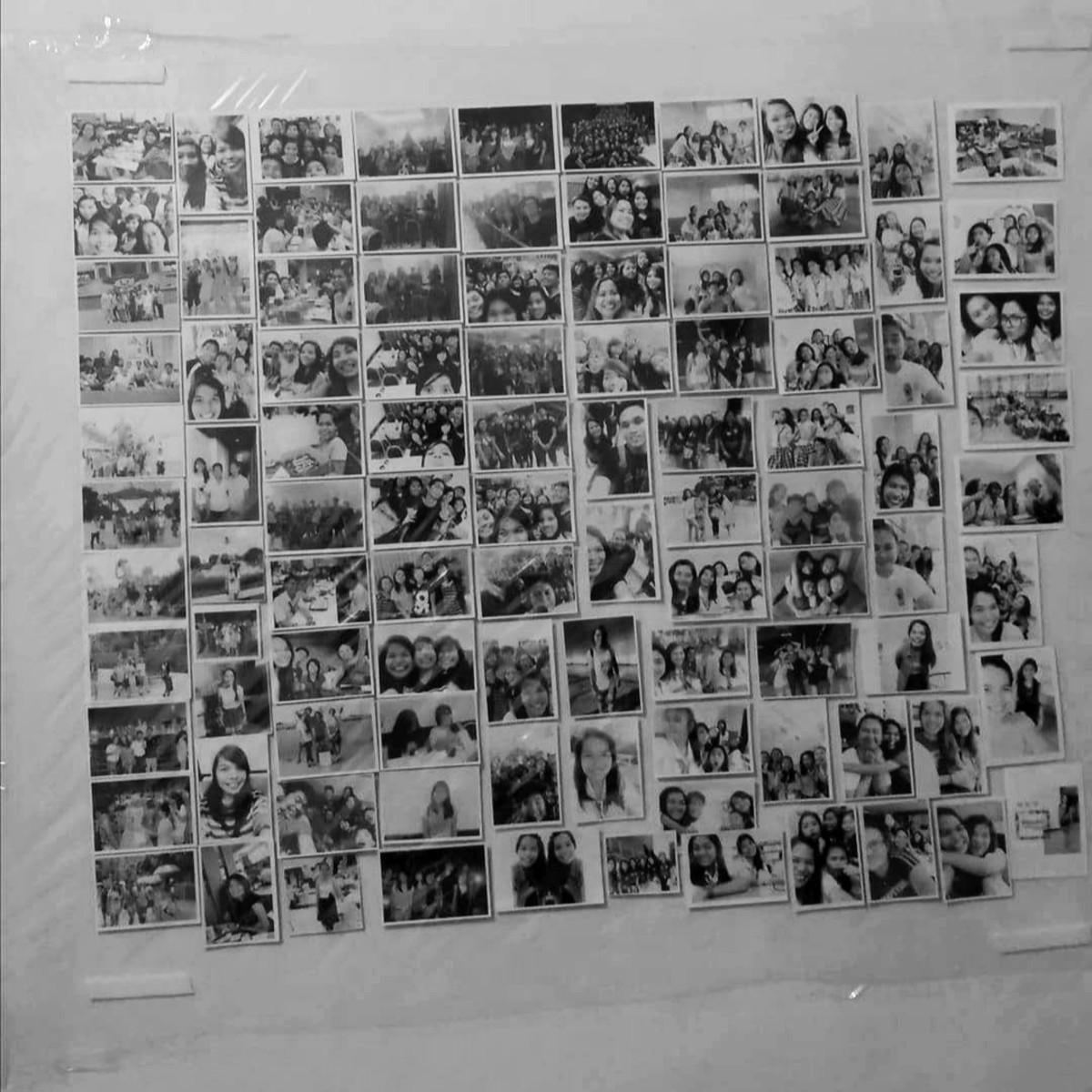 Photo wall (2014 - 2015)