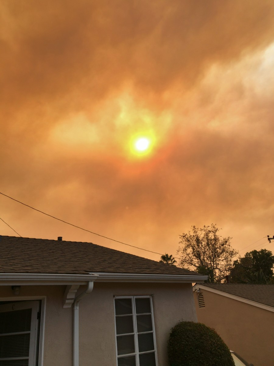The Thomas Fire: It's Still Burning (A Poem)