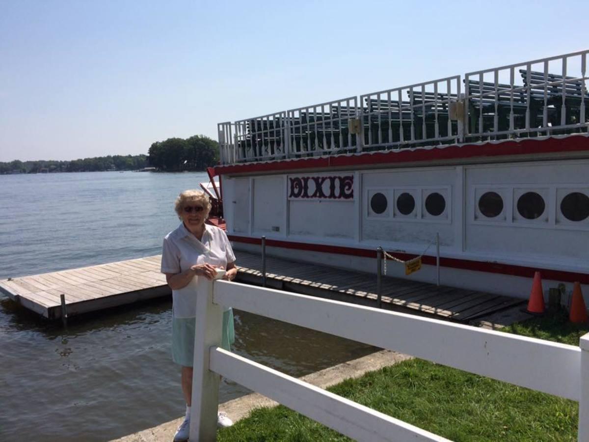 My 85 year old mother, Dawana Mills, last summer (2017)