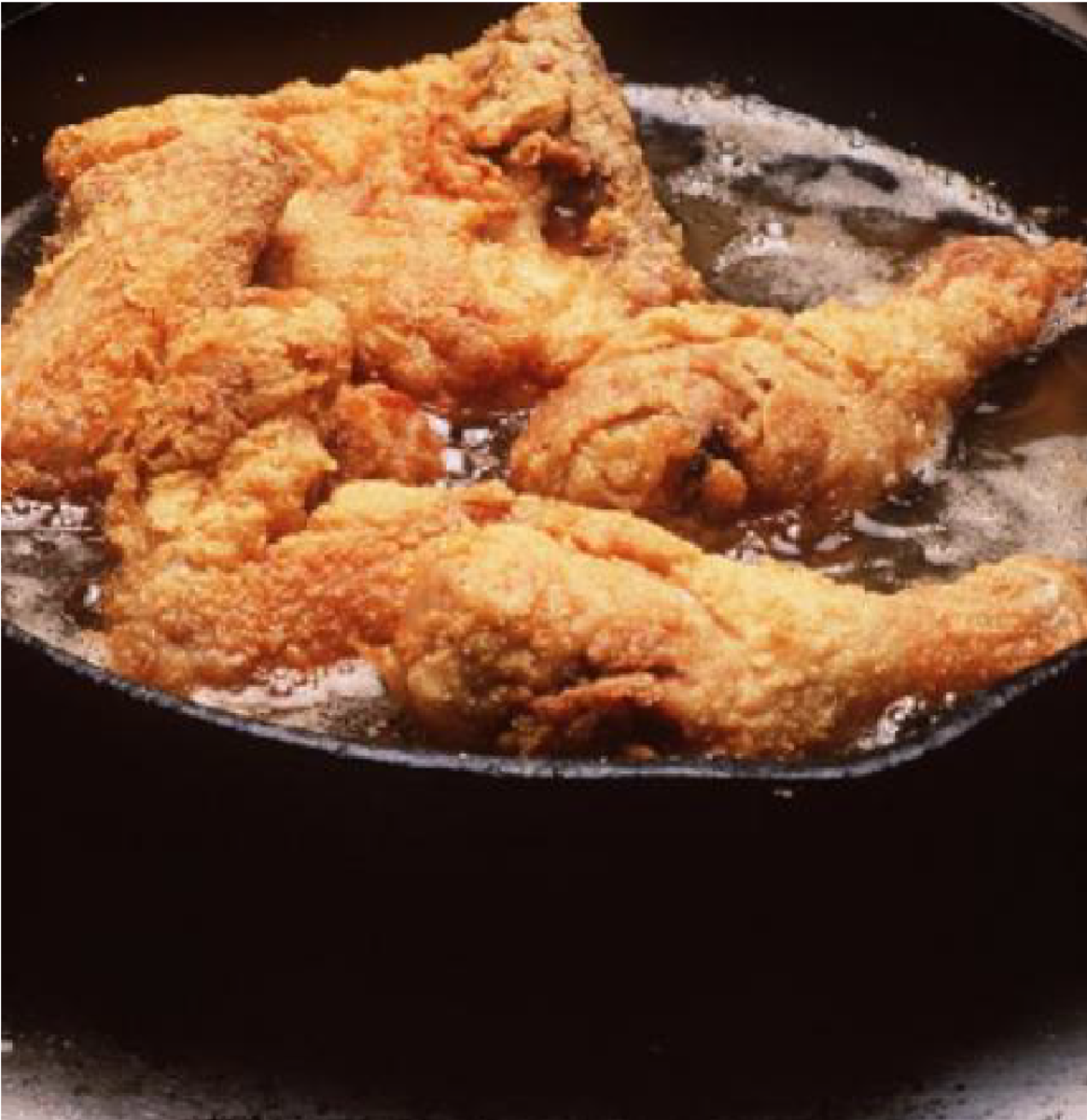 A good meal always made Ross feel better, and nobody could make better fried chicken better than Queenette Brown. Not even the Colonel.