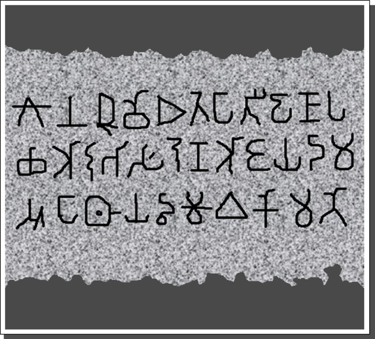 Rock edicts