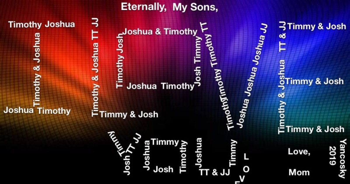 To My Sons With All My Love