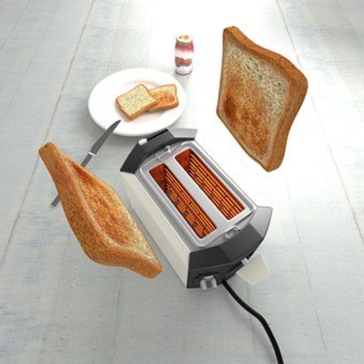Why if no-one likes burnt toast, do toasters come with a setting that always burns the bread to a frazzle?