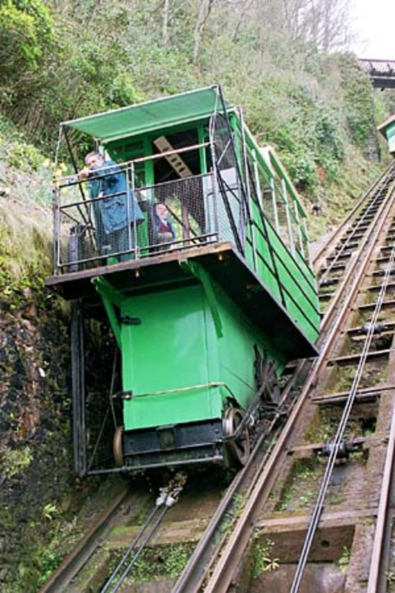 The Victorian water-powered railway