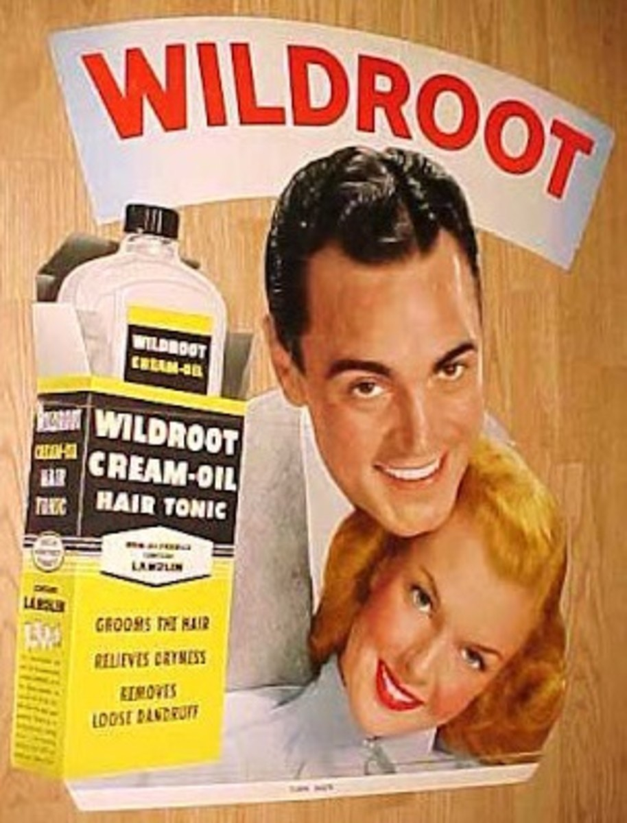 Wild Root was just one of the men's hair tonics that are NO LONGER manufactured.