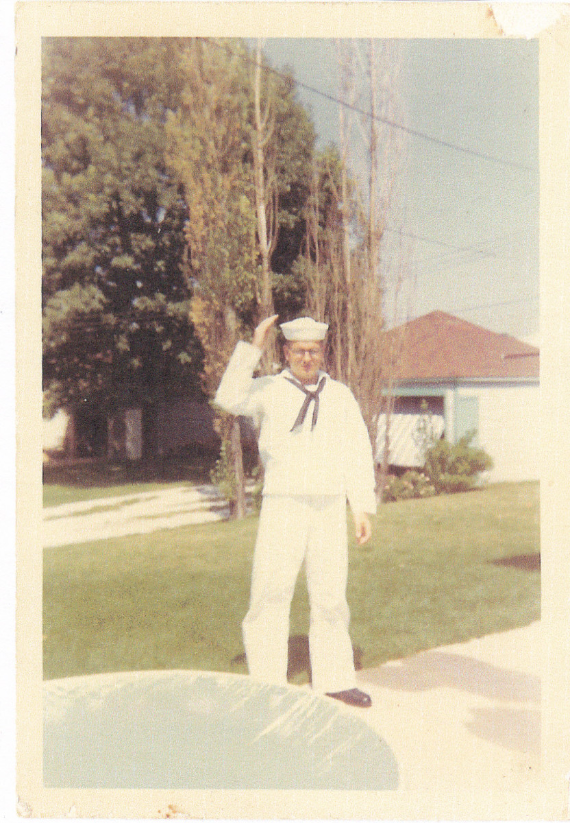 Taken at Uncle Dick's home in West Allis while on Navy liberty in August 1967.