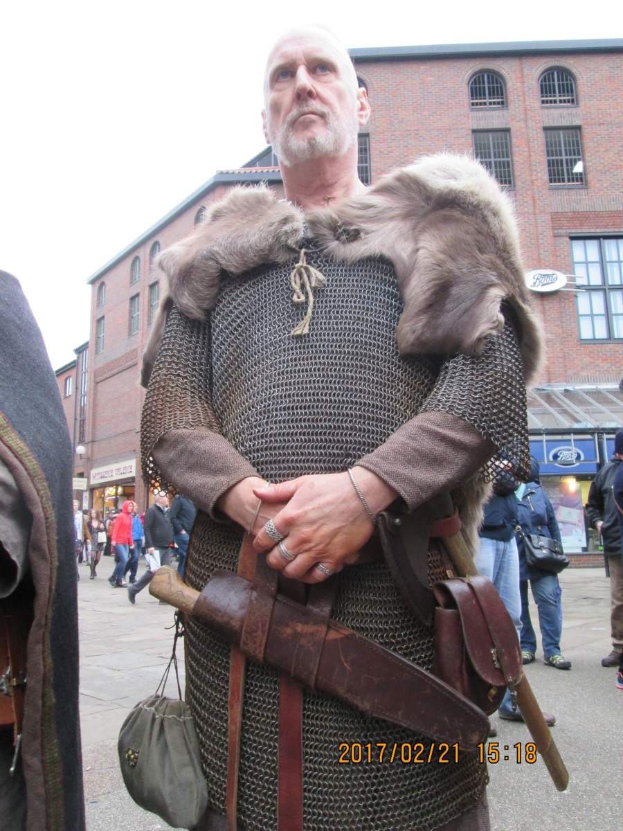 Here's 'Skald', storyteller, poet, entertainer - in reality a Scot from the north-east of Scotland (Pictland)