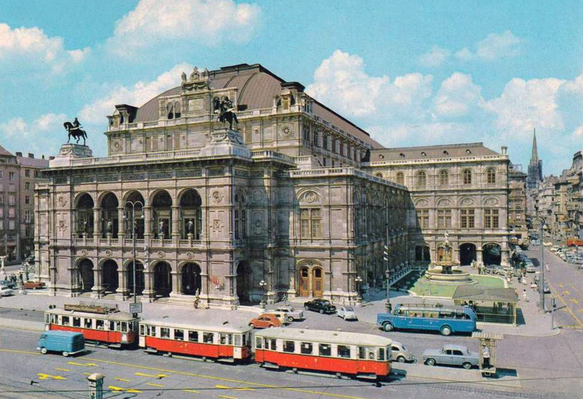 The general idea of Vienna - Wien - is opera and floating white gowns at opera balls. I came to know the grittier side of life in a mid-Sixties Strauss City