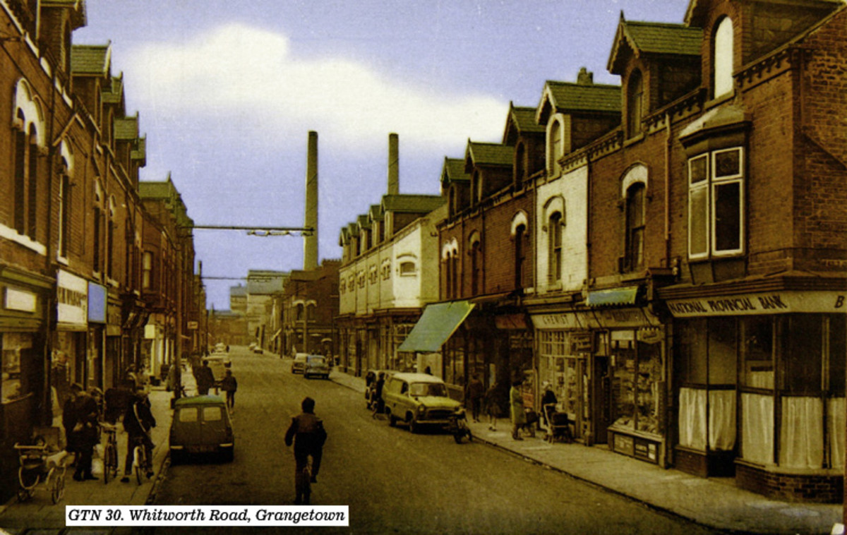 Whitworth Road, Grangetown, named after a Tyneside entrepreneur, partner of a man named Armstrong whose house, Cragside in Northumberland boasted the first electric lights in England