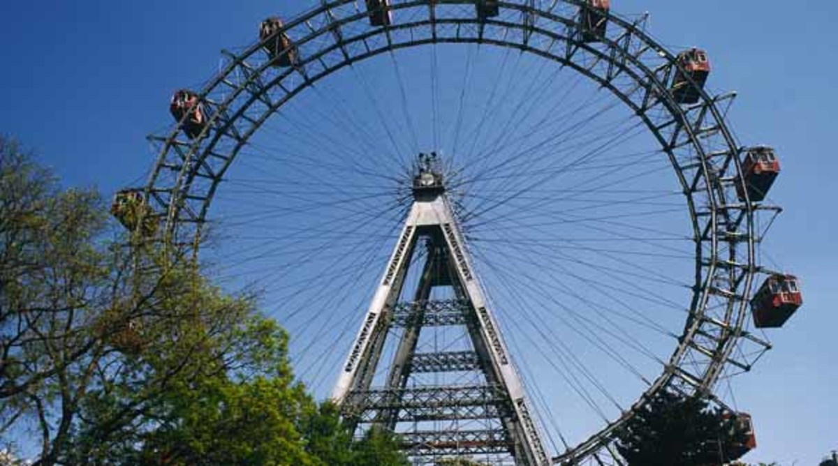 ...And there's that Big Wheel, the Giant Ferris Wheel in Vienna, scene of some harrowing moments between Harry Lime and Holly Martin (Orson Welles and Joseph Cotten)...
