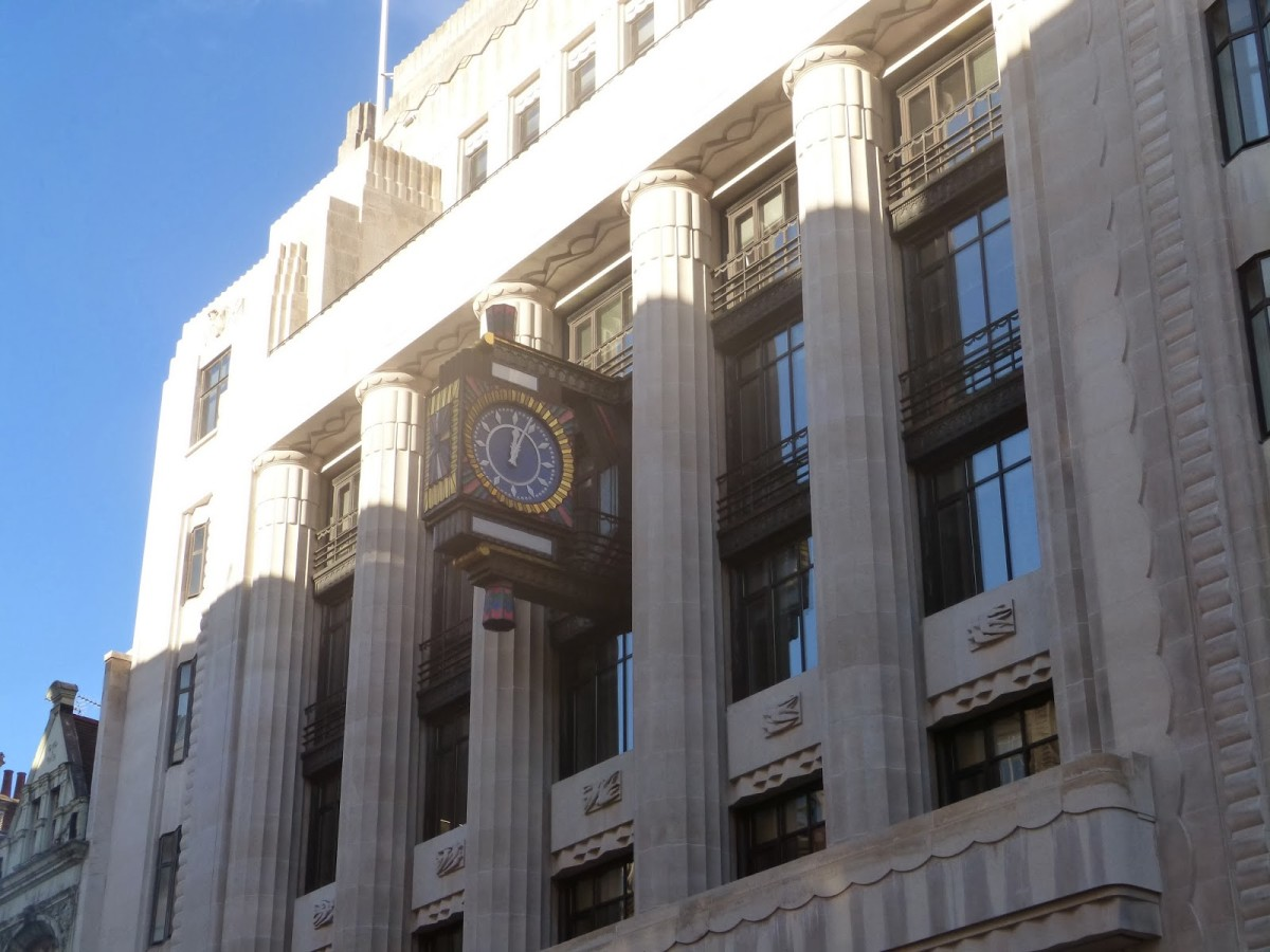The main offices of 'The Daily Telegraph' and 'Sunday Telegraph' - there were two buildings linked by a passage you only knew if you'd been here a while, like a 'mouse run'.