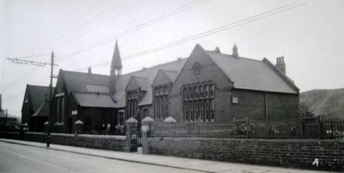 South Eston Junior School, Guisborough Street, Eston - located near the California 'bonanza' estate that began Eston's fortunes from 1850-1949 when the last ironstone mine closed at Trustee Drift
