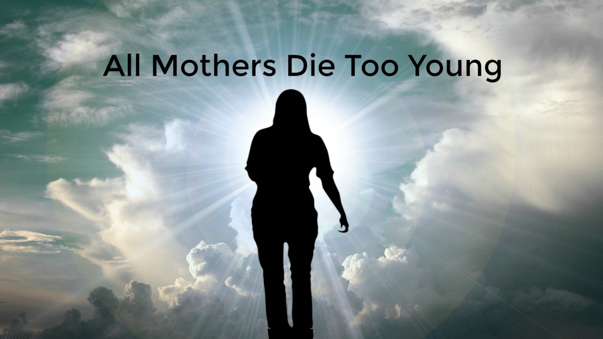 The death of a mother is not the end of the mother-child relationship.