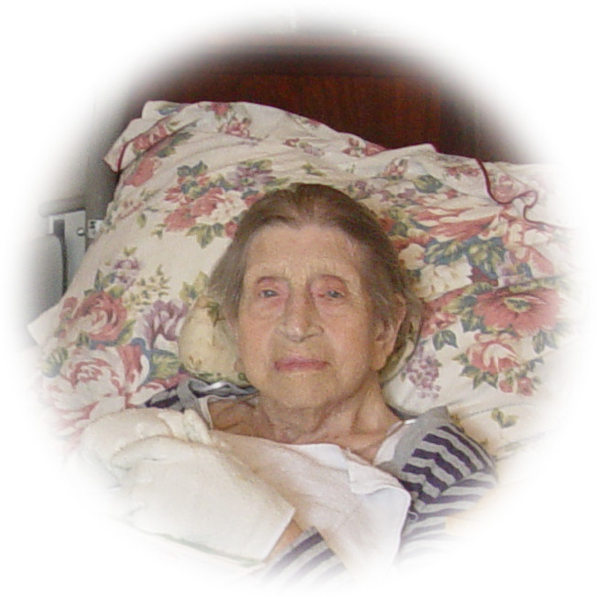 My mom, 101 years old