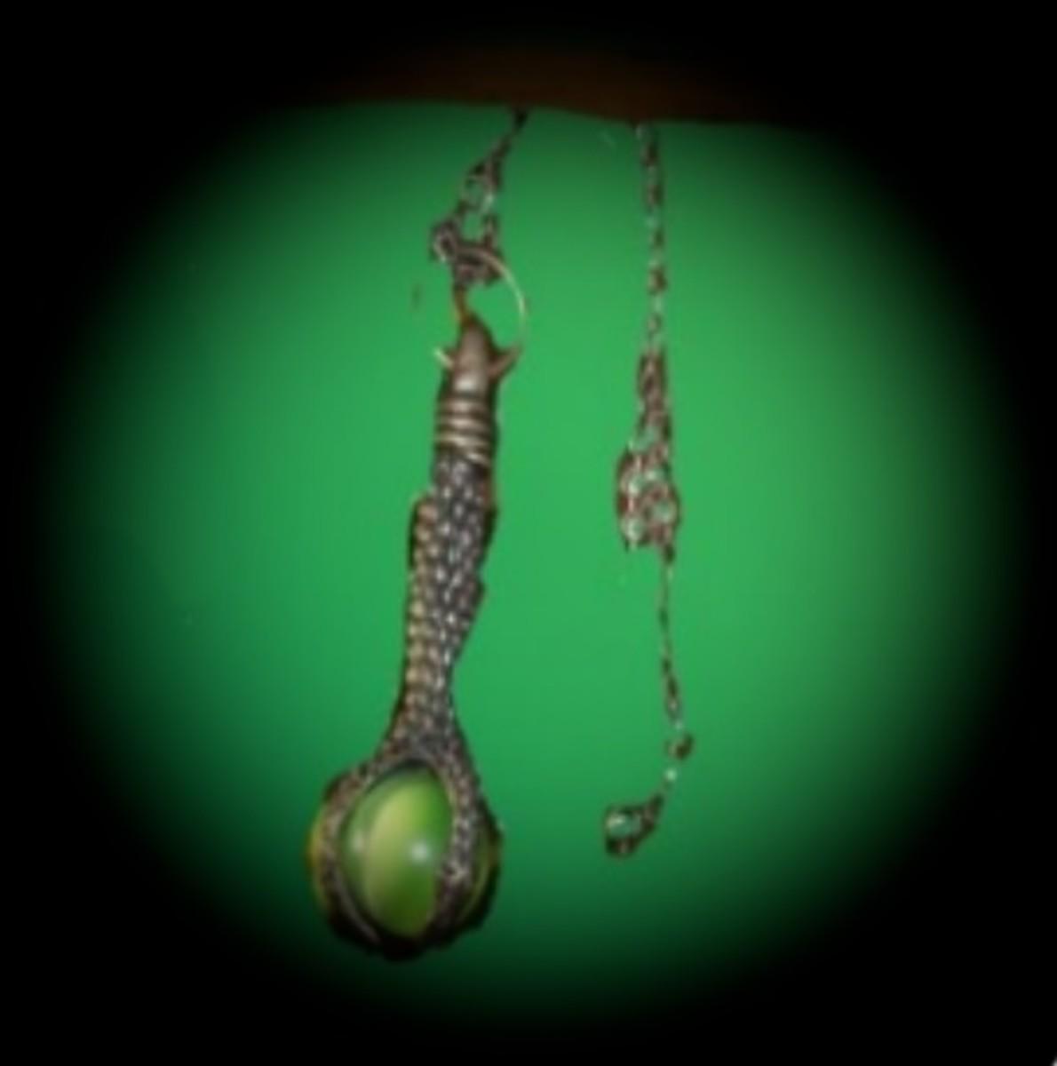 The magic talisman...