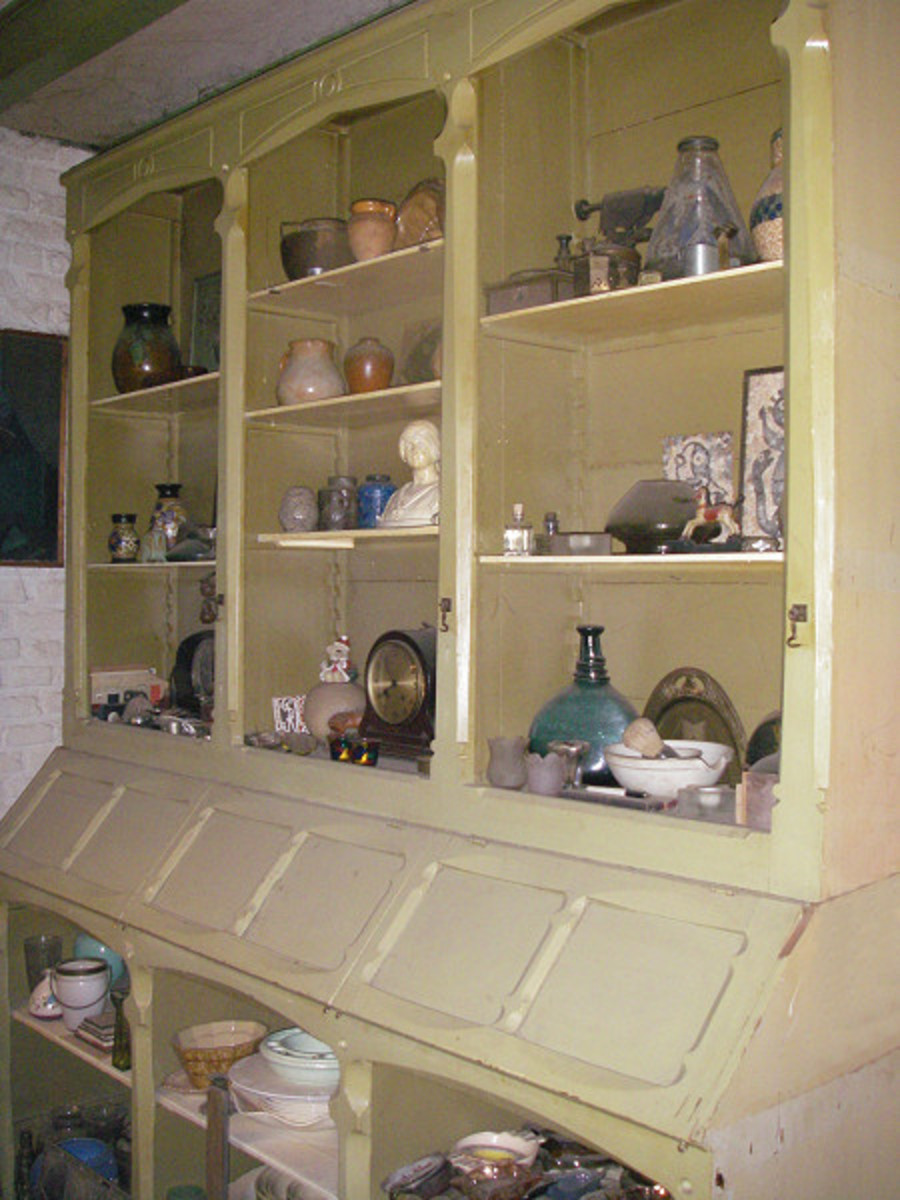 Old Bakery cupboard