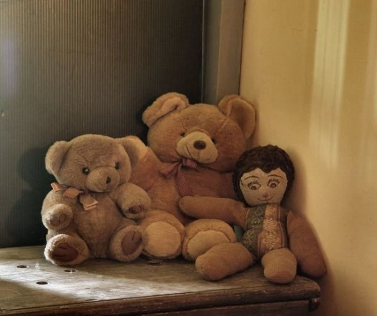 My stuffed dolls and bears
