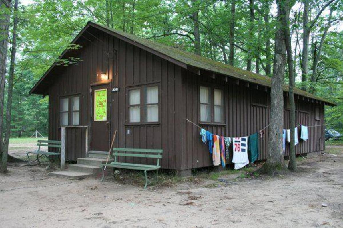 Cabin at the Interlochen Music Camp in Michigan