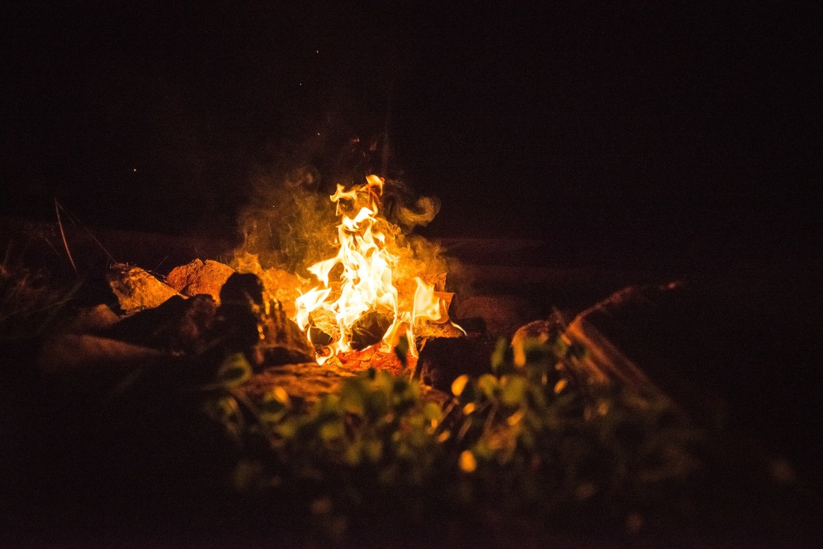 Most of those who had been present by the campfire had already retired for the night.