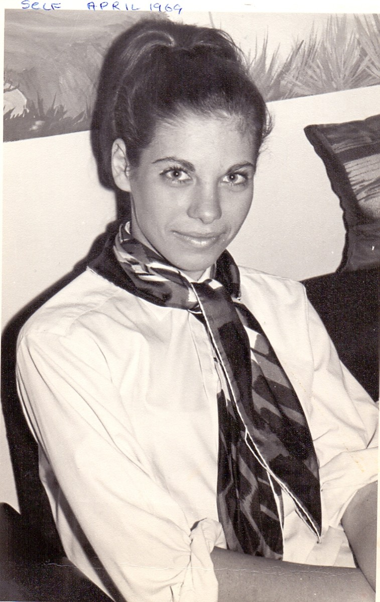 Tessa Schlesinger at 17. School days.