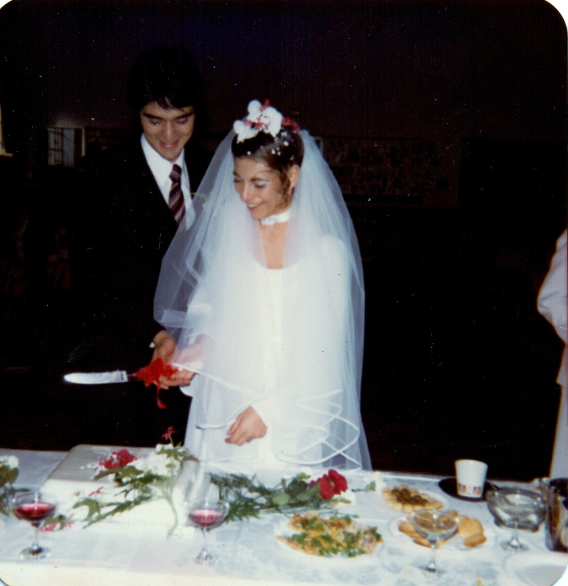 Tessa Schlesinger Getting married either in June or July 1980. I had no idea what I was doing and couldn't wait for the ceremony to be over so that I could go home and read a book.