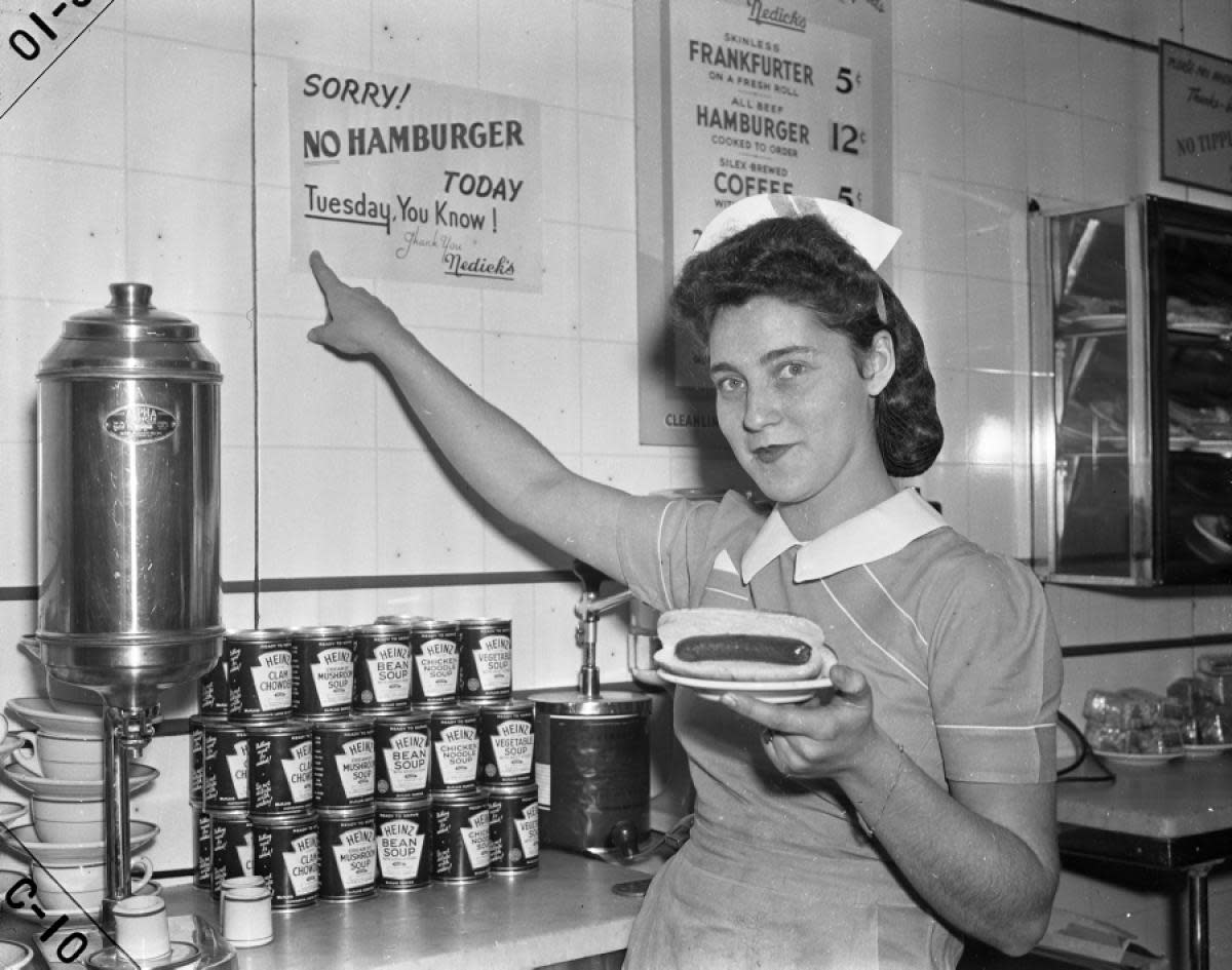 """This was NOT any of the waitresses that """"I"""" met or knew in any of the small diners that I was blessed to visit. This girl, no doubt, was a waitress, but not one in Hodges."""