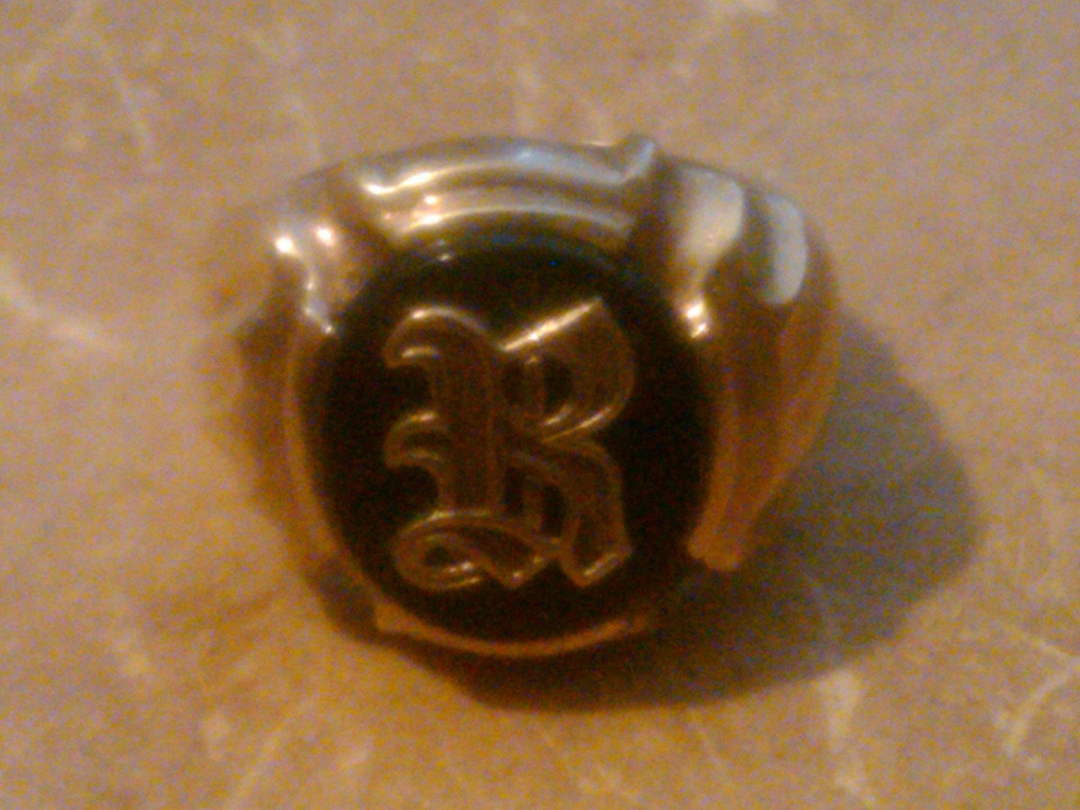 Richard Eisenberg's initial ring