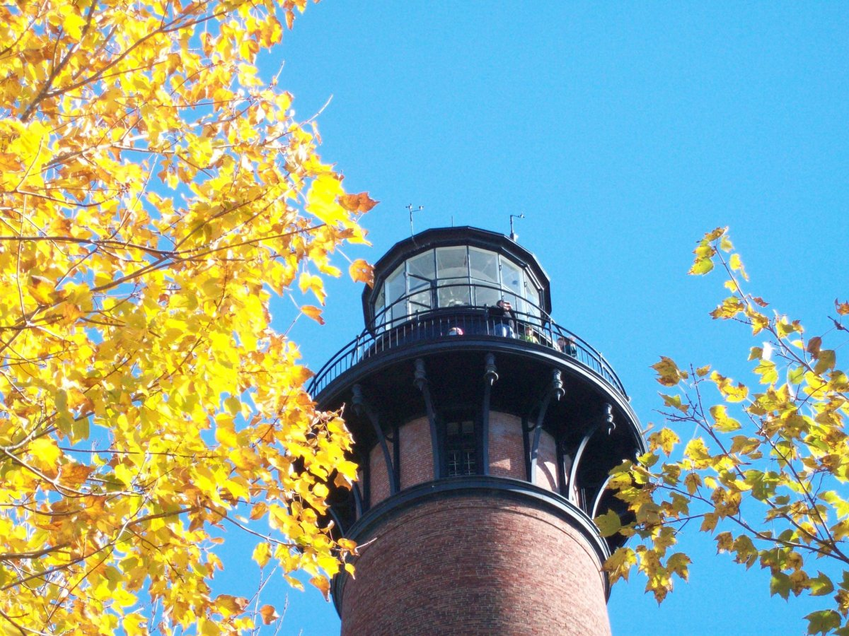 Currituck Light in Autumn