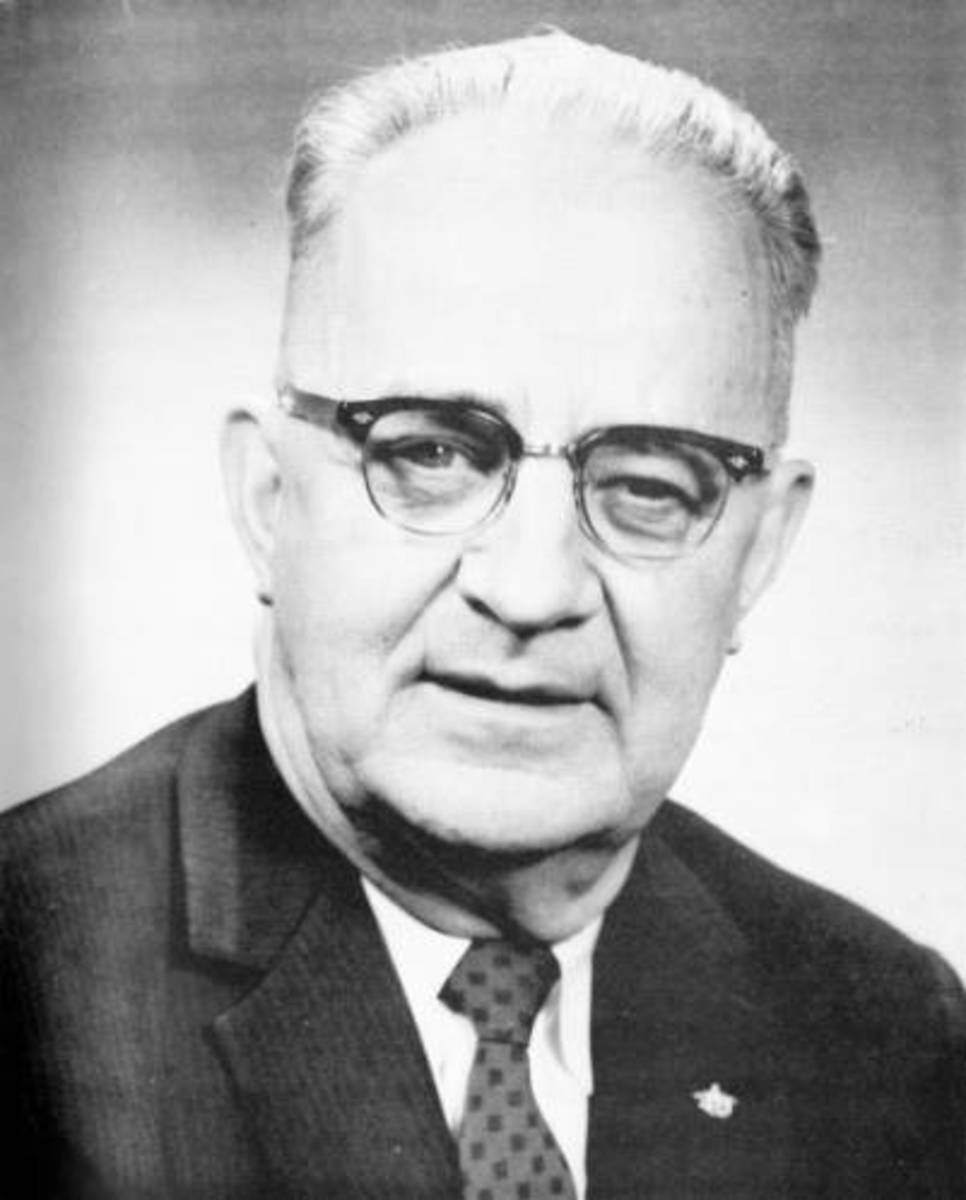 "Eugene ""Bull"" Connor 1960, who was Birmingham's Commissioner of Public Safety Director during the Civl Rights marches of 1963."