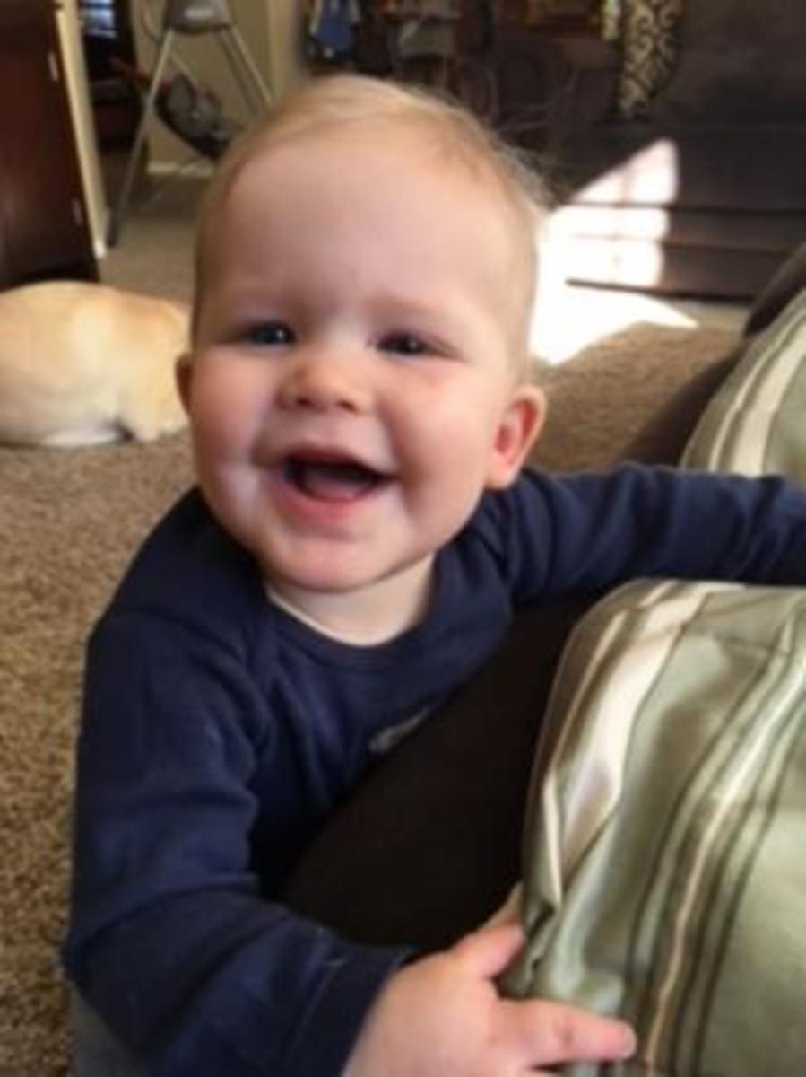 My grandson, Graham