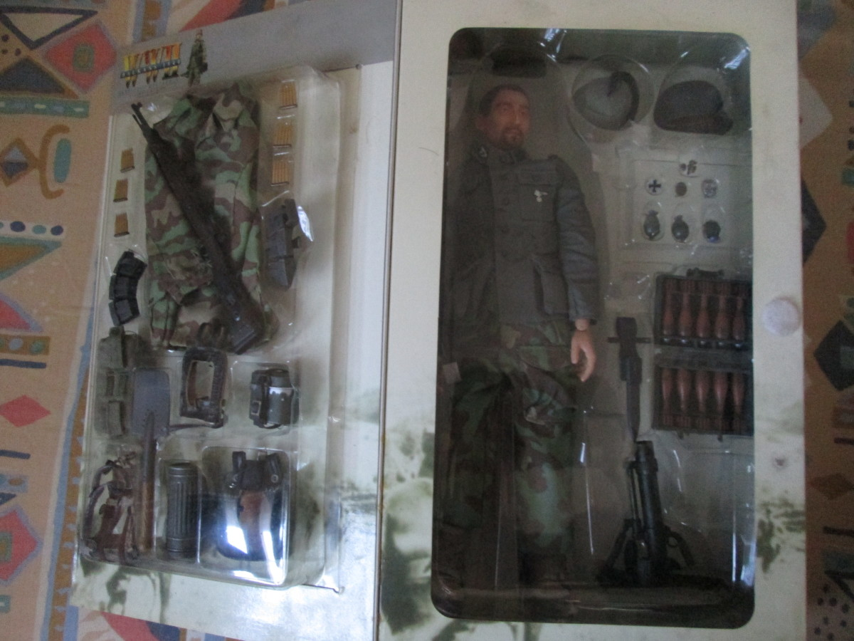 One of Kevin's Toy Soldiers