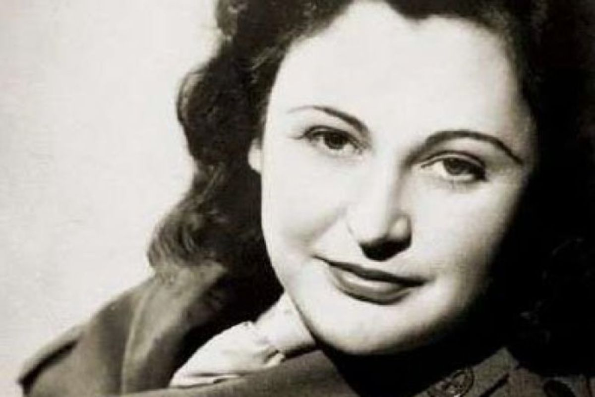 A spy the Nazis couldn't catch. A real life spy, the famous 'White mouse'