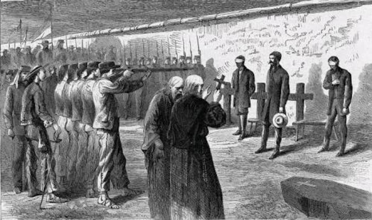 execution-by-firing-squad-on-red-letter-day