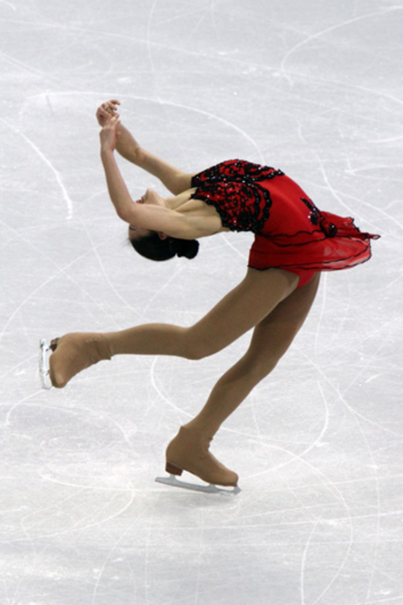 Mirai Nagasu  a ladies' single skater. She is naturally-beautiful, graceful, agile and I could go on. What a great talent.