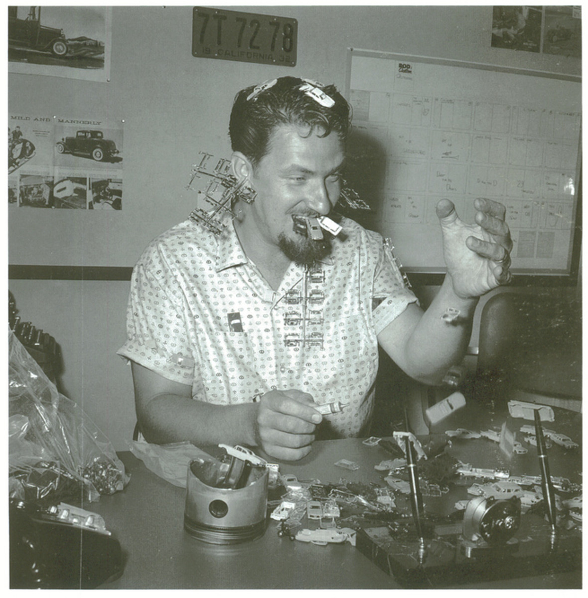 "Ed ""Big Daddy"" Roth. The Car Designer Guru who owned the 60s. Even Ed at one time, rode on the Right Hand Passenger Front Side of the car and that is why he is cool."