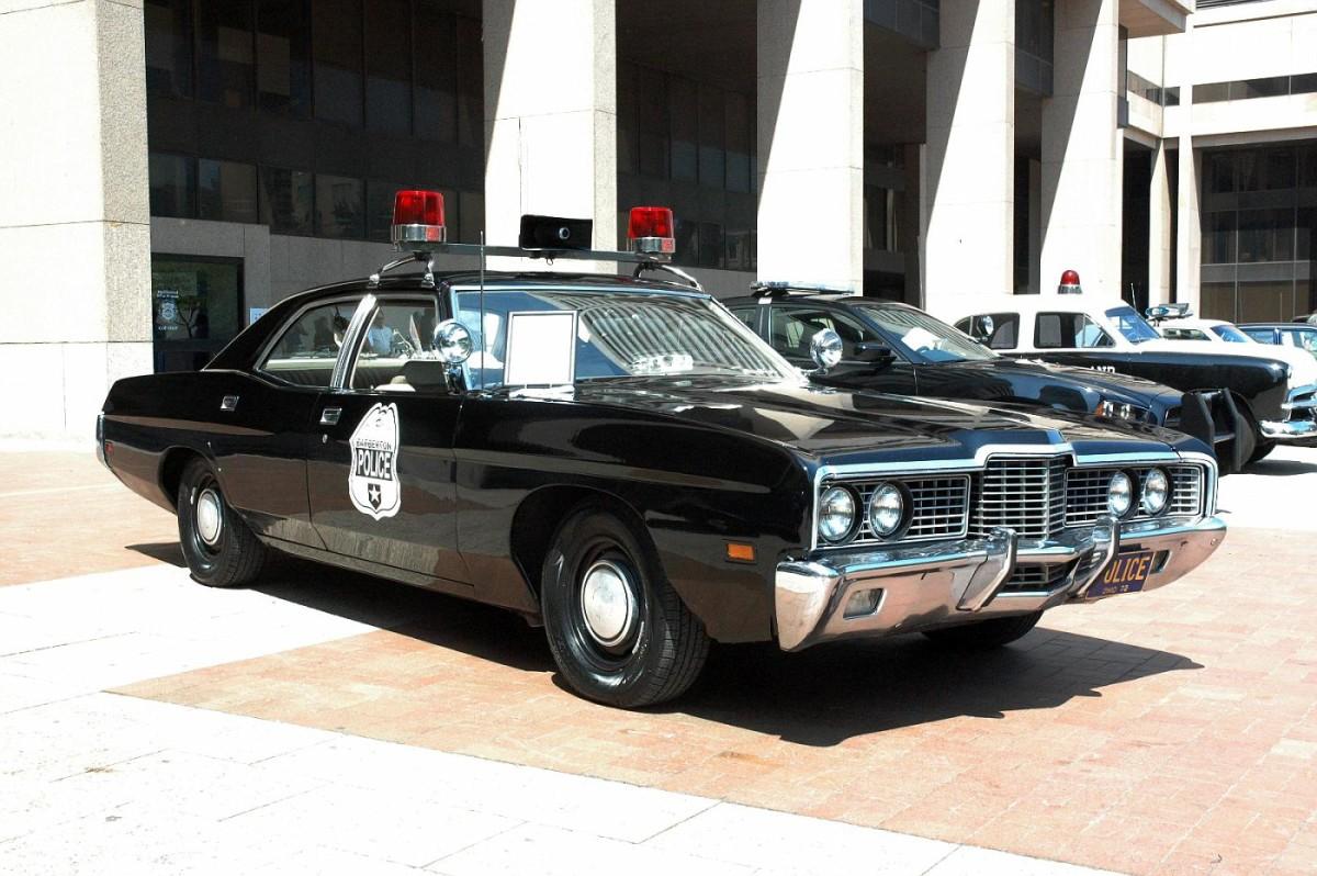 1972 Ford police car.