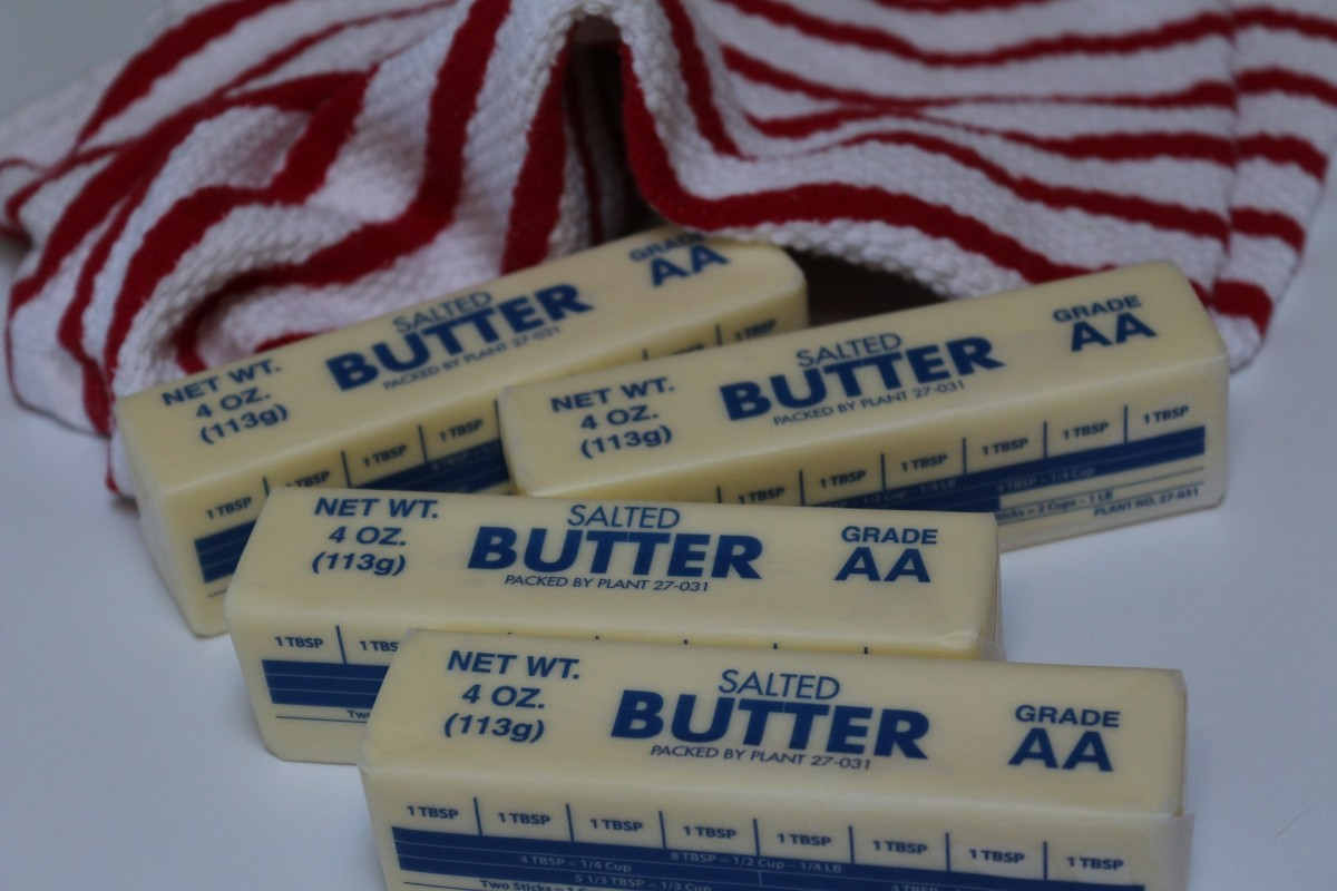 """Butter must be room temperature. Cold butter will tear the bread."""