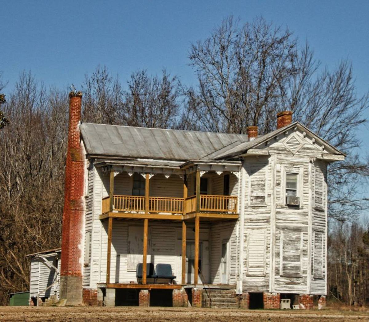 This Victorian era home is in the early stages of renovation