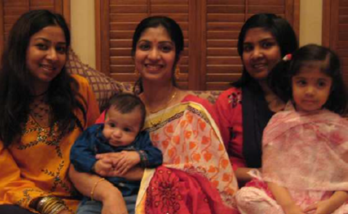 Pic2: My Two Sisters, Nephew, Niece and Myself in Dallas in 2007