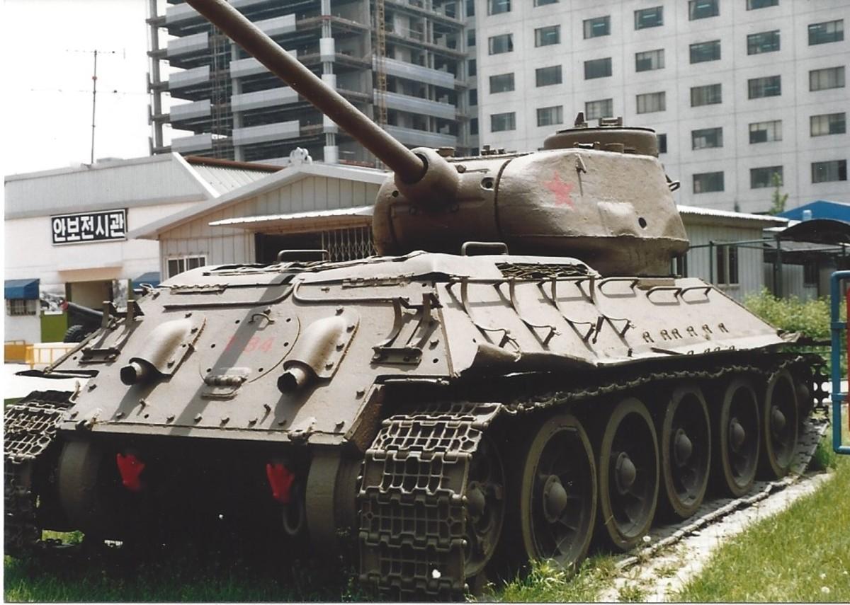 A T-34 tank.