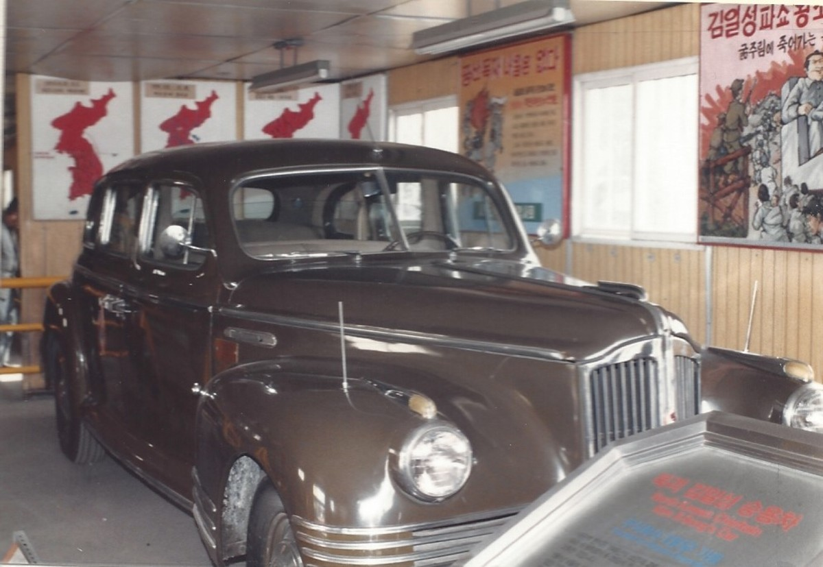 Kim Il Sung's car.
