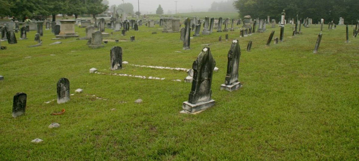 Graveyards are often depicted as hotbeds for spiritual occurrences.