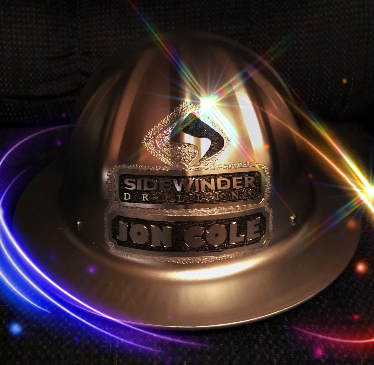 A Skull Bucket Round Brim Logo Hat