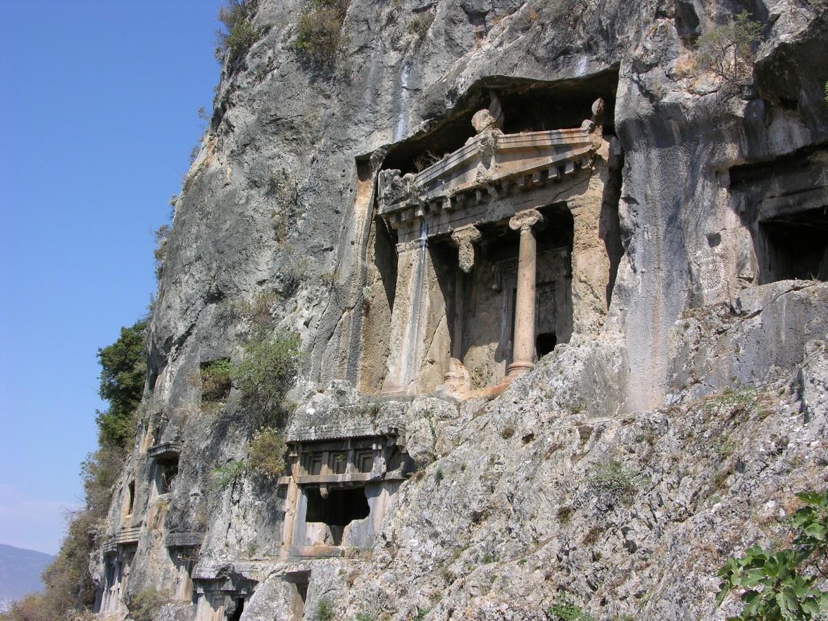 Tombs, Fethiye