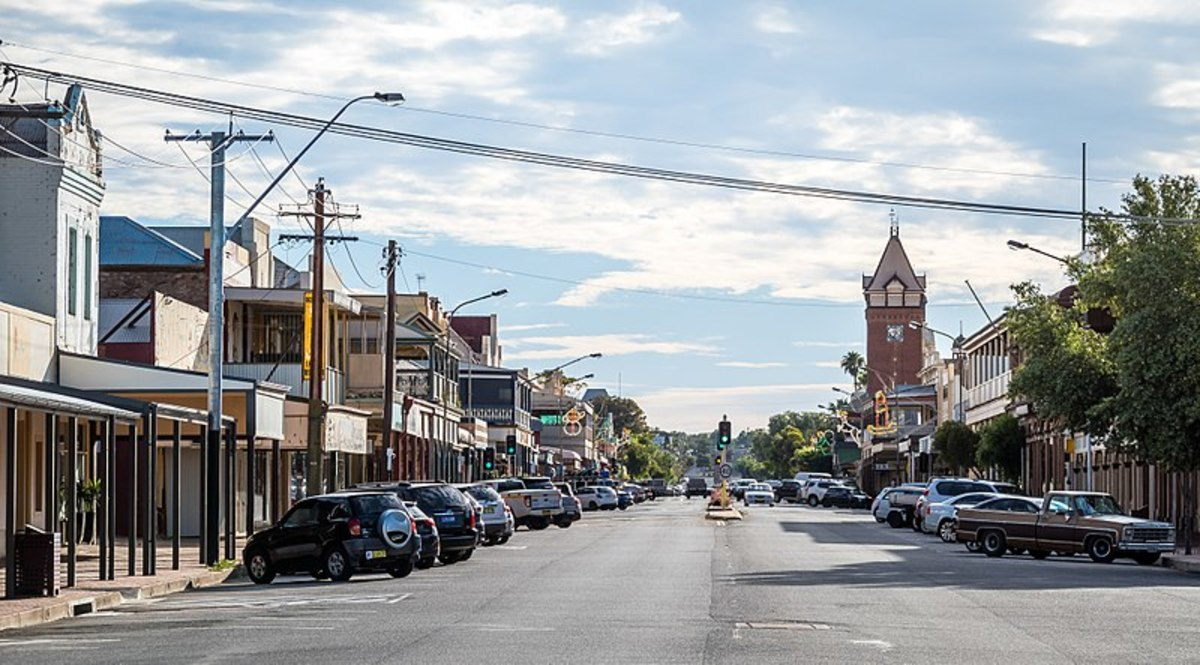 Main Street of Broken Hill, NSW