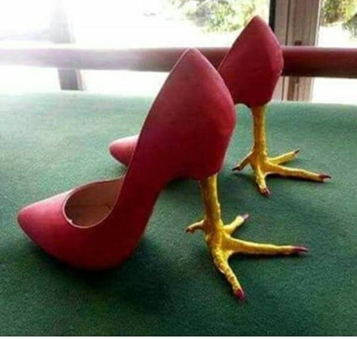 Finally! A set of sexy shoes Baba Yaga can approve of...