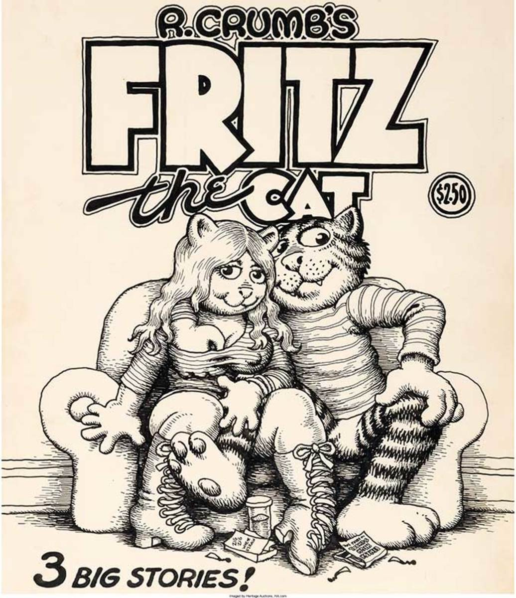 I don't know what it says about me that when I think of Knee High Fuck-Me Boots I think of all the female leads in Fritz the Cat........
