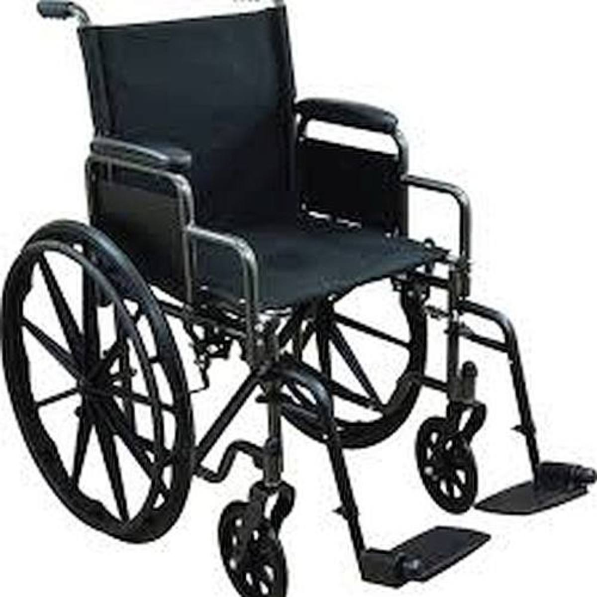 Travis was confined to a wheelchair.