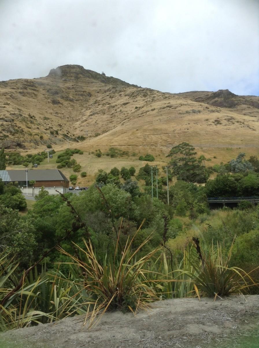 Port Hills between Christchurch & Lyttelton