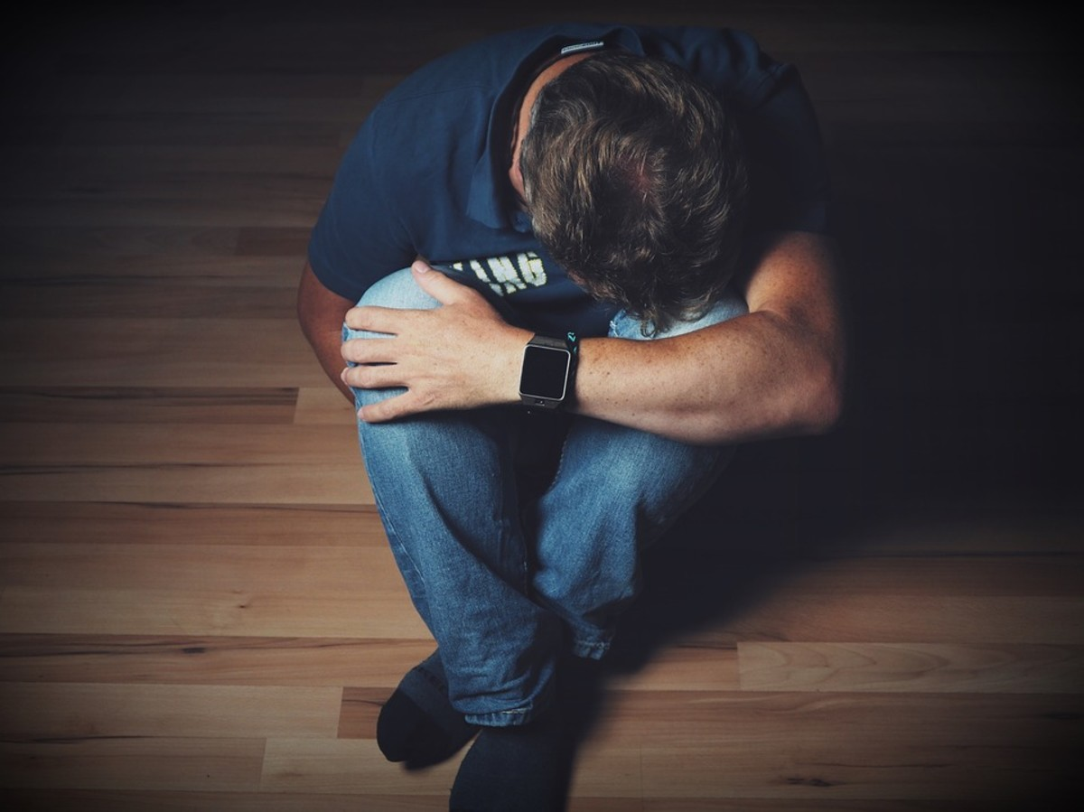 Raymond slumped to the floor and prayed for the first time in his life.